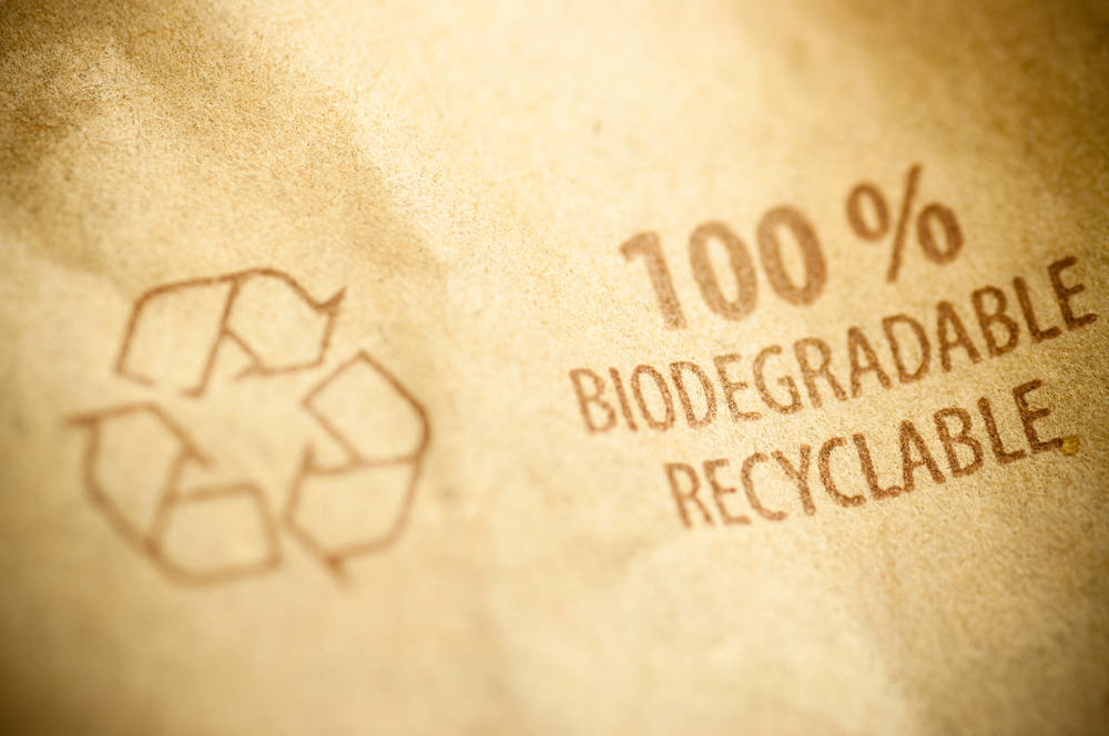 Bolsas biodegradables hechas con patata