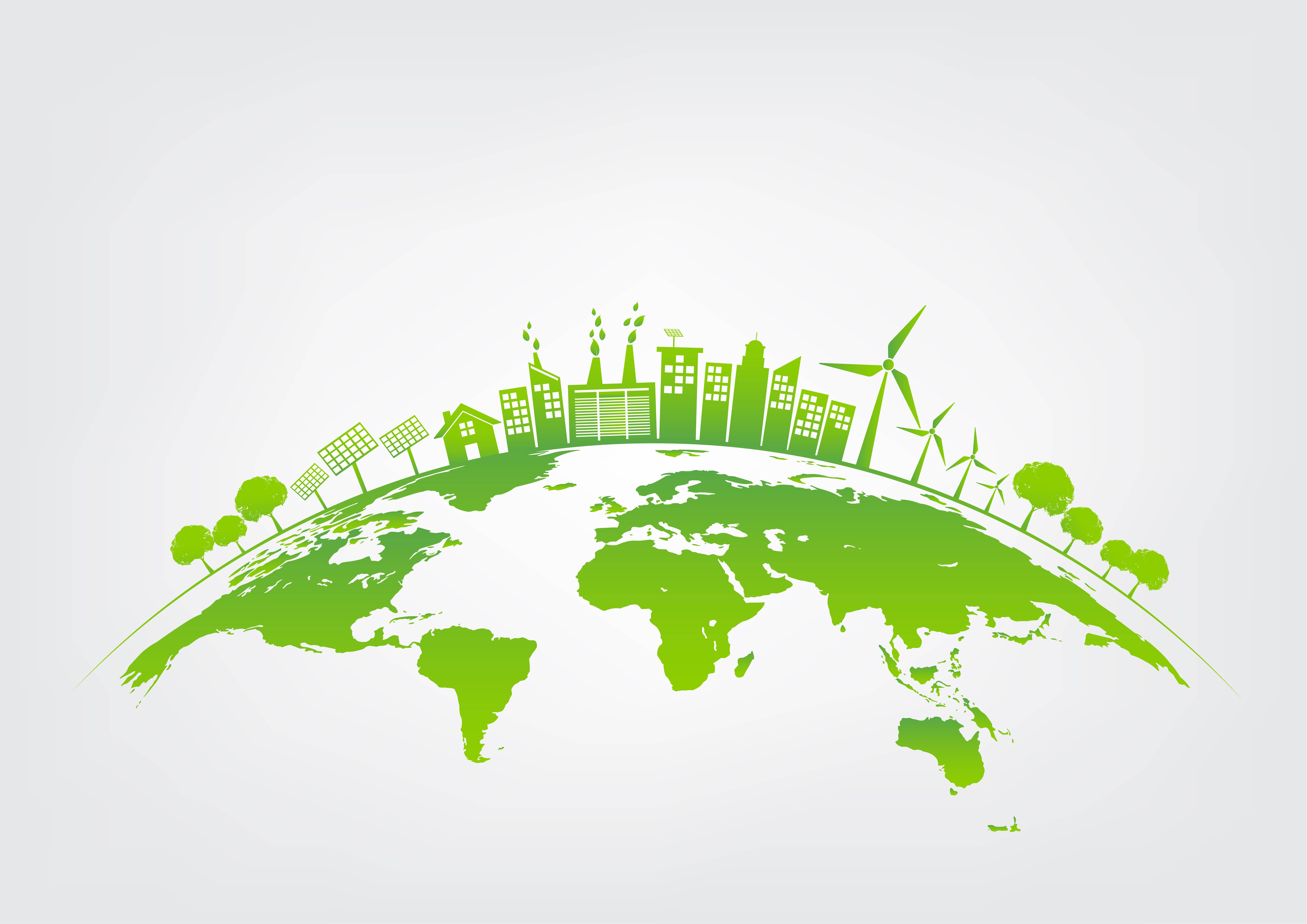 Desarrollo sostenible e industrial. Fusión de lo urbano y lo rural