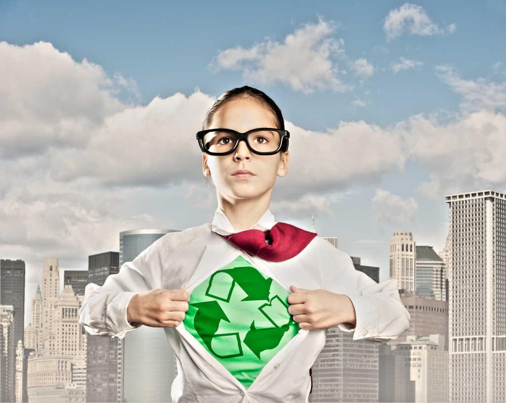 Un mundo con conciencia recicla en cualquier sector