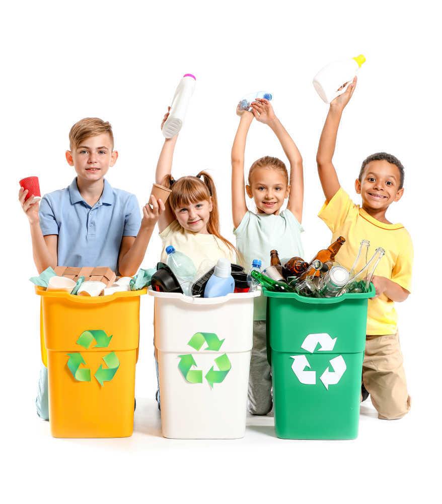 El reciclaje en las aulas escolares